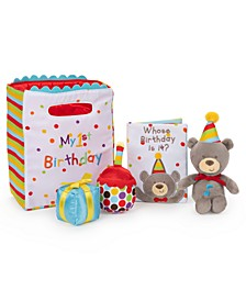 Baby 5-Pc. My First Birthday Stuffed Plush Play Set