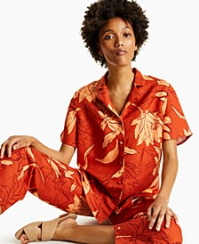 Printed Camp Shirt, Created for Macy's