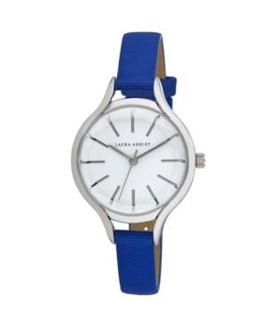 Women's Blue Grosgrain Strap Watch 32mm