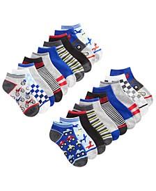 Big Boys 20-Pk. Low Cut Socks