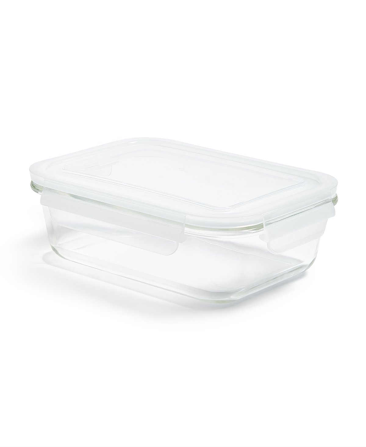 Martha Stewart Collection 4.4-Cup Rectangular Glass Food Storage Container, Created for Macy's