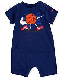 Baby Boys Running Basketball Romper