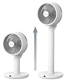 2-in-1 Circulating Floor & Table Fan