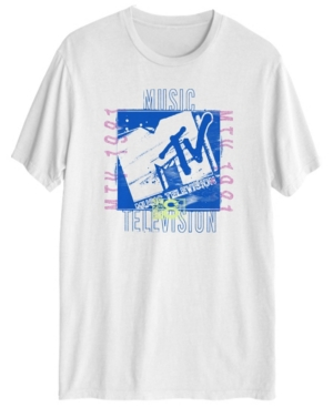 Men's Mtv Grunge Short-sleeve T-shirt