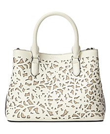 Mini Marcy II Perforated Leather Satchel