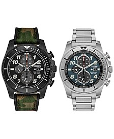 Eco-Drive Men's Chronograph Promaster Tough Watch Collection