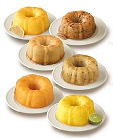 Tropical Mini Bundt Cake Sampler, 6 Pack