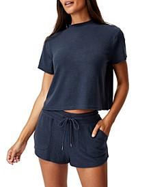 Women's Super Soft Pocket Lounge Shorts