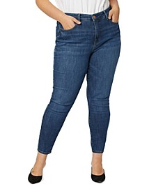 Plus Size Ultra High Rise Skinny Jeans