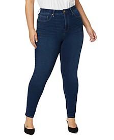 Plus Size Everyday Knit Denim Jeans
