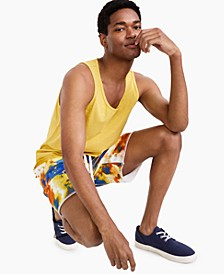 Men's Garment-Dyed Tank Top, Created for Macy's