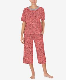 Women's Capri Pants Pajama Set