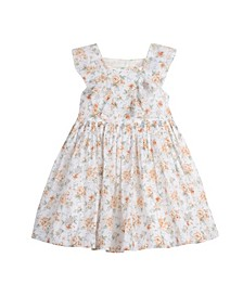 Toddler Girls All Over Print Easy Clip Dot Dress