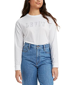 Women's Batwing Relaxed Graphic Top
