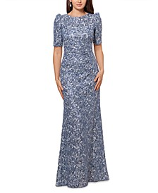 Lace Sequined Dress