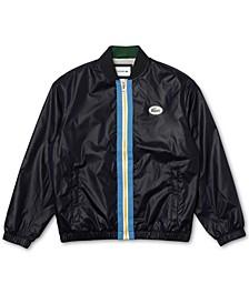 Men's Heritage Contrast Band Bomber Jacket