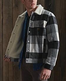 Men's Highwayman Wool Sherpa Trucker Jacket