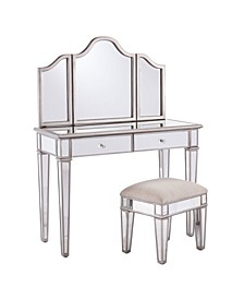 Kala Mirrored Vanity Set