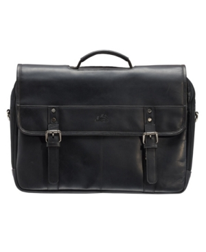 """Men's Double Compartment Briefcase with Rfid Secure Pocket for 15.6"""" Laptop and Tablet"""