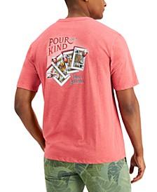 Men's Pour Of A Kind Logo Graphic T-Shirt