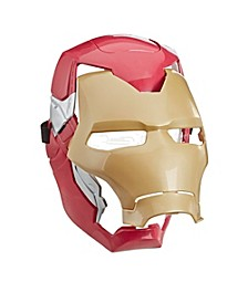 Avengers Iron Man Flip FX Mask with Flip-Activated Light Effects for Costume and Role-Play Dress Up