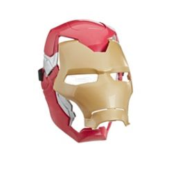 Marvel Avengers Iron Man Flip Fx Mask with Flip-Activated Light Effects for Costume and Role-Play Dress Up