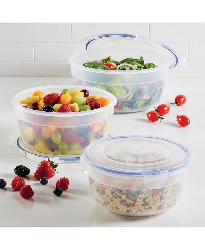 Lock n Lock - Easy Essentials 6-Pc. Nested Bowl Food Storage Set