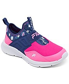 Little Girls Landbuzzer Slip-On Running Sneakers from Finish Line