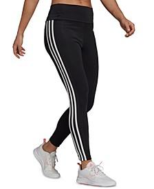 Women's 3-Stripe High-Waist Full Length Leggings