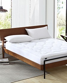 Water-Resistant Overfilled Mattress Pad, Twin XL