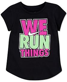 Little Girls We Run Things T-Shirt