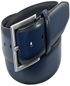 Men's Carmine Leather Belt
