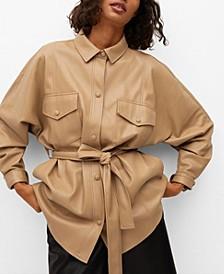 Leather-Effect Jacket