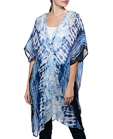 INC Tie-Dyed Knot Cover Up, Created for Macy's