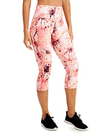 Performance Printed Cropped Leggings, Created for Macy's