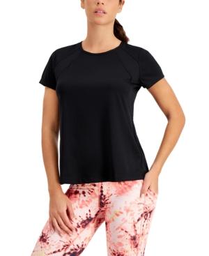 Perforated Crewneck T-Shirt