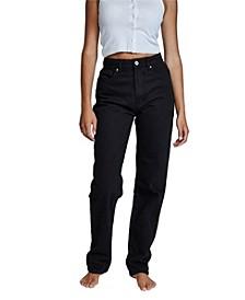 Women's Long Straight Jeans