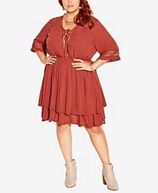 Plus Size Bring The Heat Dress