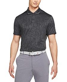 Men's Tiger Woods Dri-FIT ADV Performance Pixel-Print Golf Polo Shirt