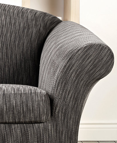 Sure Fit Stretch Space Dye 2-Piece Loveseat Slipcover