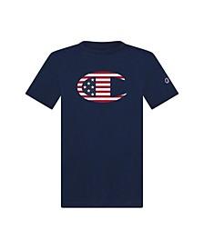 """Big Boys Flag """"C"""" Logo Short Sleeve Tee"""