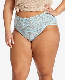 Plus Size Retro Lace Vkini