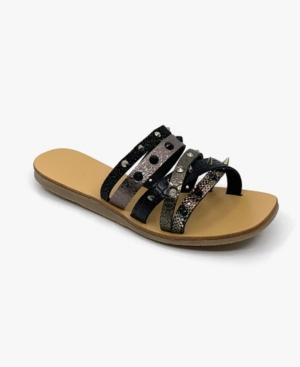Women's Arm Party Slip-On Flat Sandals Women's Shoes