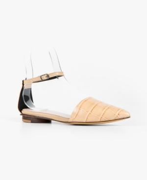 Women's Pressed Sling Wrap Flats Women's Shoes