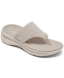 Women's Go Walk Arch Fit - Weekender Arch Support Thong Flip Flop Walking Sandals from Finish Line