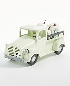 White Pumpkin Truck Figurine, Created for Macy's