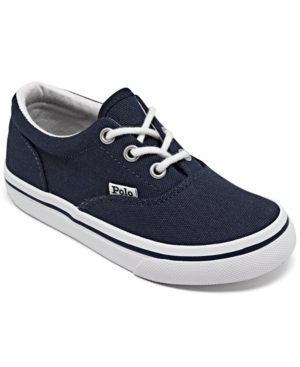 Polo Ralph Lauren Canvases TODDLER BOYS KEATON CASUAL SNEAKERS FROM FINISH LINE