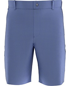 Big Boys Tonal Plaid Golf Shorts