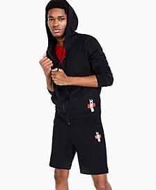 Men's Durtle Logo Hooded Full-Zip Sweatshirt