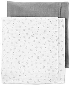 Baby Baby 2-Pk. Cotton Receiving Blankets